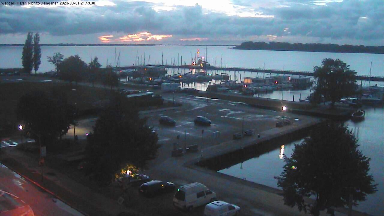 Webcam Hafen Ribnitz, Blick 1